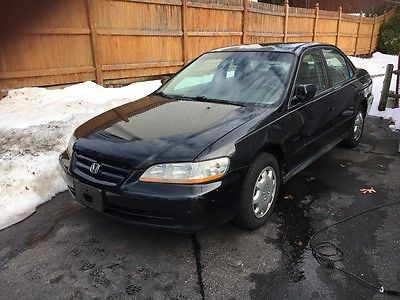 2002 Honda Accord LX 2002 Honda Accord Needs Repair Possibly Motor or For Parts Clear Title