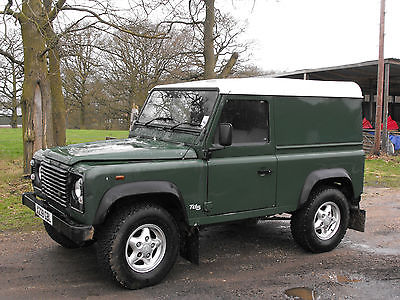 1980 Land Rover Defender Tecno Land Rover Defender 90 200tdi genuin and original 1992 outstanding condition