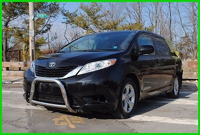 2011 Toyota Sienna LE V6 8 Passenger Repairable Rebuildable Salvage Wrecked Runs Drives EZ Project Needs Fix Save Big