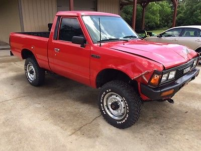 1986 Nissan 720 Base Standard Cab Pickup 2-Door 1986 Nissan 720 Base Standard Cab Pickup 2-Door 2.4L