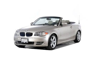 2009 BMW 1-Series 128i 2009 BMW 1 Series 128i 49190 Miles Brown 2D Convertible 3.0L I6 DOHC 24V 6-Speed
