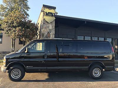 2002 Chevrolet Express Base Extended Passenger Van 3-Door 2002 Chevrolet Express 3500 15 Passenger Van 5.7L V8  **Clean Carfax**