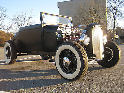 1929 Ford Model A  1929 ford roadster traditional hot rod model a rat vintage custom 1928 28 29