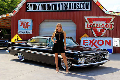 1959 Chevrolet Impala 1959 Chevy Impala 348 3 Deuces Vintage AC 4WPDB Air Ride Power Disc Brakes