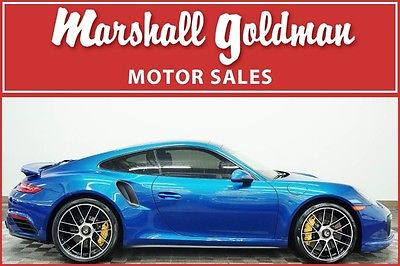 2017 Porsche 911 2017 Porsche 911 Turbo S Sapphire Blue/Black PDK, ceramics ONLY 149 MILES !!!!