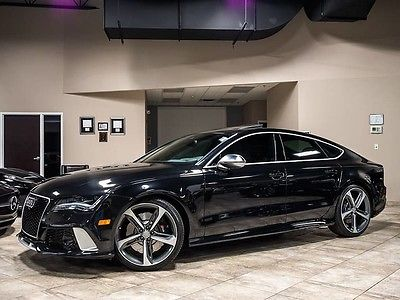 2015 Audi RS7  2015 Audi RS7 4.0T Quattro Sedan $128k+MSRP C7 LUXURY PACKAGE! B&O Sound! LOADED