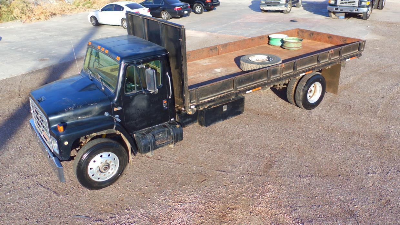 1987 International Navistar 1954 Dump Truck Edmonton Ab 1984 S1900 Wiring Diagram 1989 1754 Flatbed
