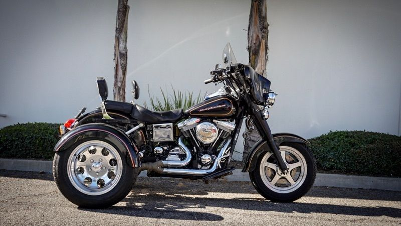 1993 Harley-Davidson Touring  Harley Davidson Dyna Trike, New IRS Conversion Kit, Reverse, Low Mileage