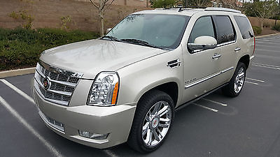 2013 Cadillac Escalade AWD Platinum Sport Utility 4-Door 2013 CADILLAC ESCALADE AWD PLATINUM, ONLY 18K MI, DON'T MISS!