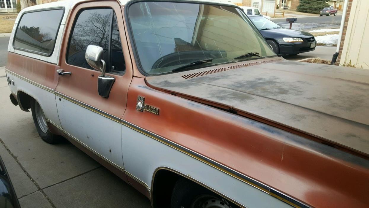 1977 Chevrolet Blazer Cheyenne 1977 K5 Blazer Cheyenne 2wd