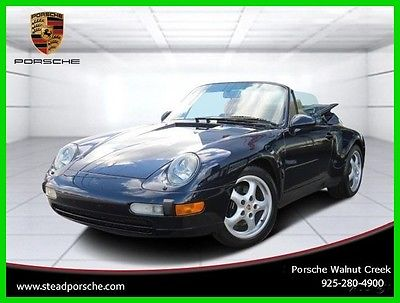 1995 Porsche 911 Carrera 1995 911 Carrera Cab 993 Used 3.6L H6 Manual Convertible