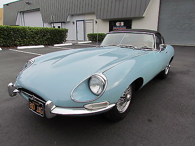 1968 Jaguar E-Type Series 1-1/2 1968 Jaguar XKE  E-type Roadster
