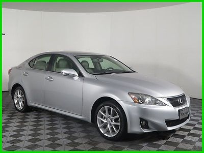2011 Lexus IS Base AWD V6 Sedan Sunroof Heated Leather Seats 47960 Miles 2011 Lexus IS 250 AWD Sedan Push Start Bluetooth Keyless Entry