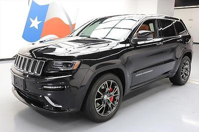 2014 Jeep Grand Cherokee SRT Sport Utility 4-Door 2014 JEEP GRAND CHEROKEE SRT 4X4 HEMI PANO ROOF NAV 29K #463110 Texas Direct