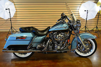 2008 Harley-Davidson Touring  2008 Harley Davidson Road King FLHR Custom 28k Miles Clean Bike Clean Title