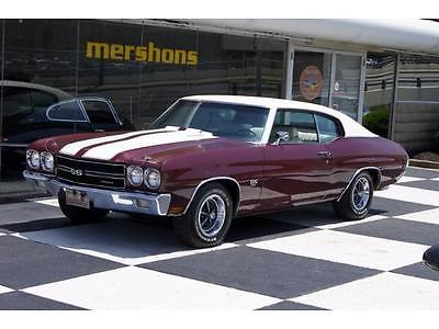 1970 Chevrolet Chevelle  1970 Chevrolet Chevelle SS - 396/350hp, Automatic, Factory A/C, Build Sheet