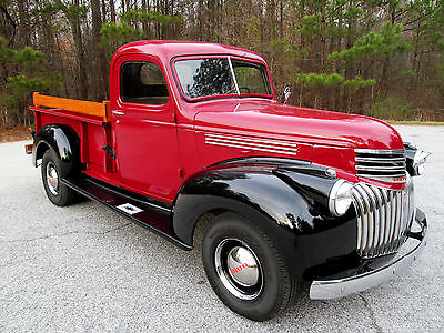1946 Chevrolet Other Pickups 3600 HARP RECENTLY COMPLETED DRIVER RESTORATION. Watch Video