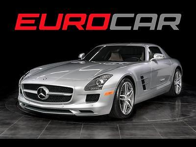 2011 Mercedes-Benz SLS AMG Base Coupe 2-Door Mercedes-Benz SLS AMG GULLWING, ONLY 3000 MILES, COLLECTOR ITEM