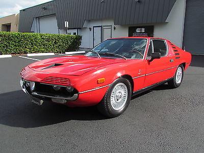 1973 Alfa Romeo Montreal RED 1973 ALFA ROMEO MONTREAL