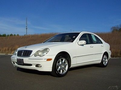 2001 Mercedes-Benz C-Class C240 PREMIUM 2.6L V6 MB LEATHER STYLE TEXT SEATS C-CLASS-BENZ-GEORGIA-COLD-AC-PWR-GLASS-ROOF-AUTO-REAR-WHEEL-DRIVE-SHARP-MACHINE