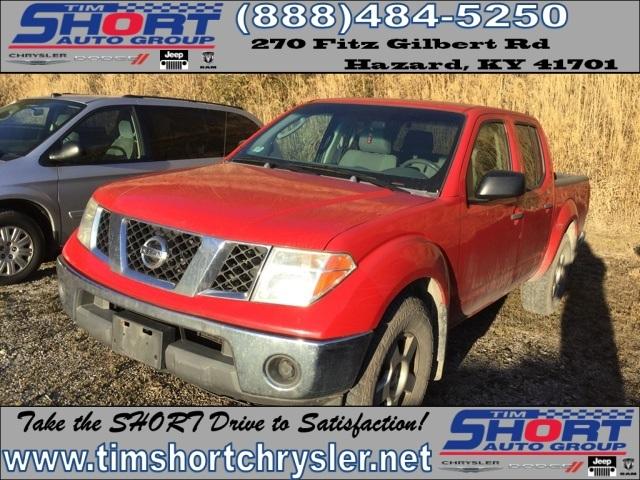 2005 Nissan Frontier Pickup Truck