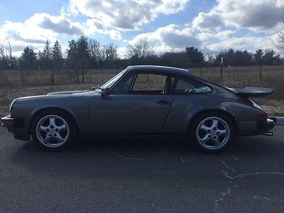 1988 Porsche 911 Carrera Coupe 2-Door ** FS - 1988 911 Coupe - G50 trans - Granite Green**