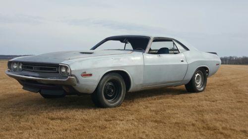 1971 Dodge Challenger 1971 dodge challenger 1970 440 383 340 318 cuda coronet roadrunner e body