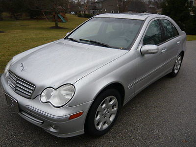 2005 Mercedes-Benz C-Class C-Class Sedan 2005 Mercedes-Benz C-Class C240 4-Matic SEDAN, OPTIONS!  Silver w/ Black Leather