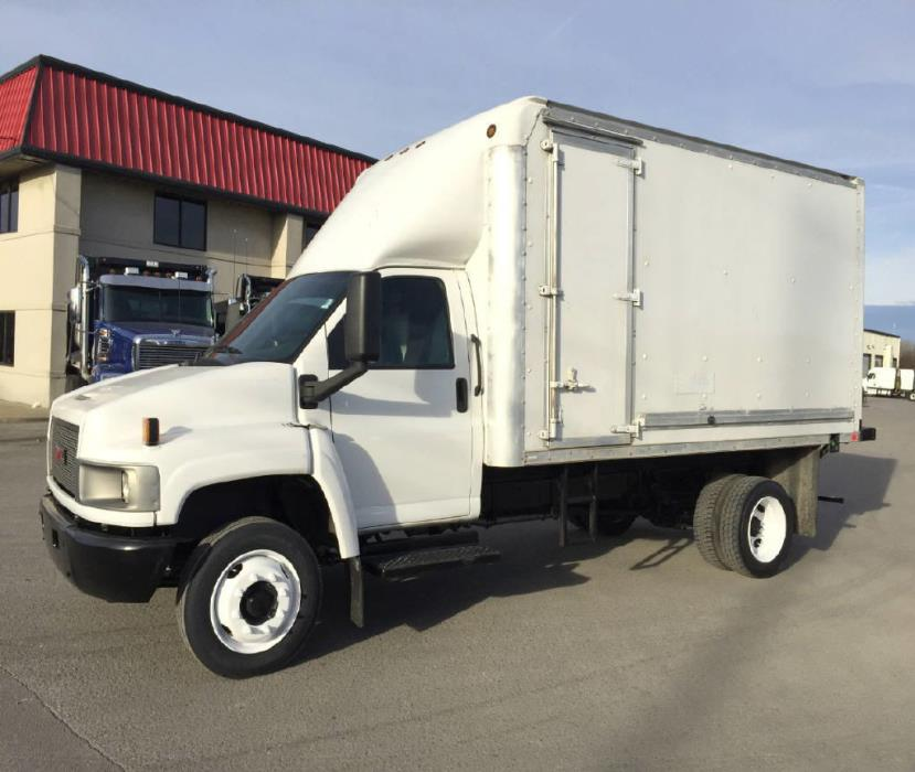 2008 Gmc C5500  Box Truck - Straight Truck