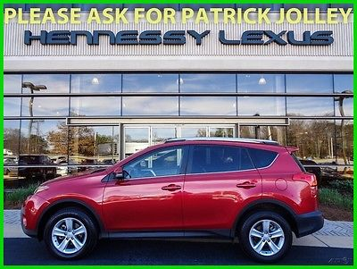 2014 Toyota RAV4 XLE 2014 XLE  2.5L I4  One Owner Great Service Navigation Back up Camera Moonroof
