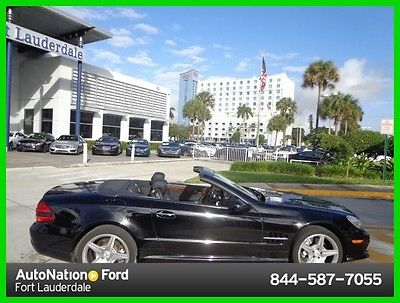 2009 Mercedes-Benz SL-Class SL550 2009 SL550 Used 5.5L V8 32V Automatic Rear Wheel Drive Convertible Premium