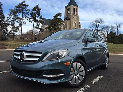 2014 Mercedes-Benz B-class Electric Drive Mercedes-benz B250e B-Class. Electric Drive. ED. Electric Vehicle. EV