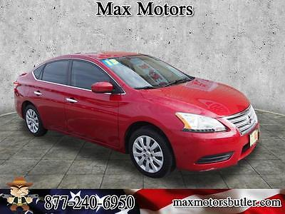2013 Nissan Sentra S 2013 Nissan Sentra S 64409 Miles Red Brick Sedan 1.8L 4 cyls CVT with Xtronic