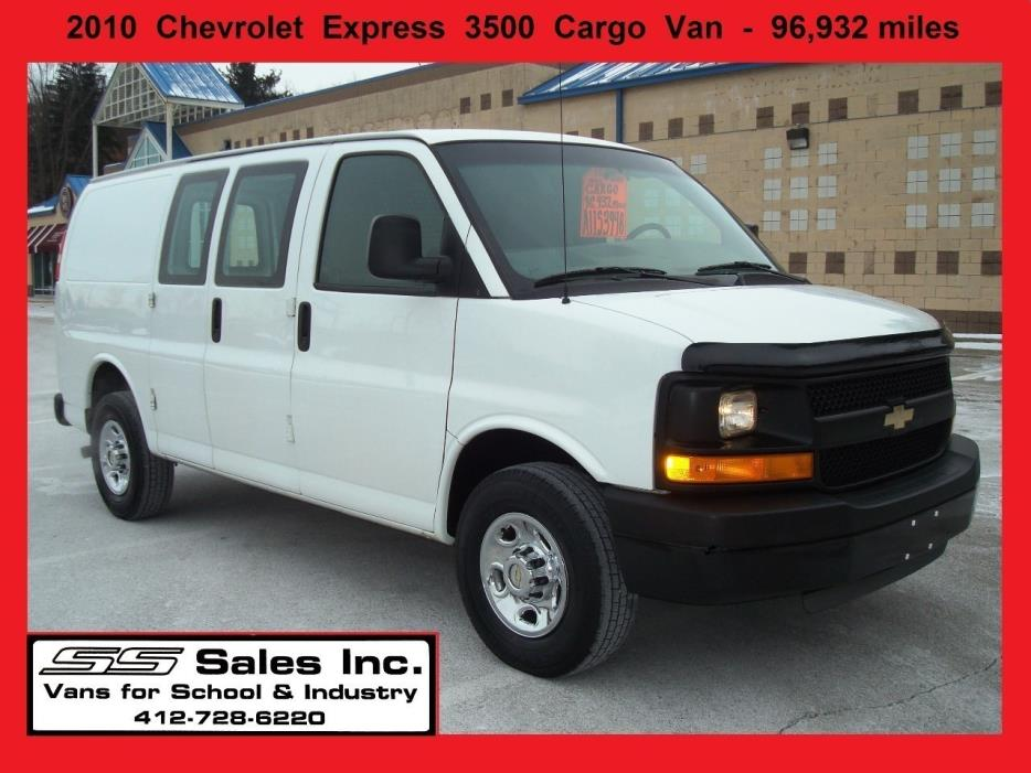 Chevy Cargo Van Vehicles For Sale In Pittsburgh PA