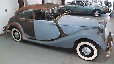1949 Other Makes SALOON  1949 JAGUAR MKV BARN FIND SURVIVOR MARK 5 1949 JAGUAR SALOON 48 50 51 52