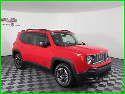 2017 Jeep Renegade Sport FWD I4 MultiAir SUV Remote Start Keyless Go 2017 Jeep Renegade Sport FWD SUV Cloth Interior Radio 3.0 FINANCING AVAILABLE