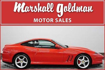 2000 Ferrari 550  2000 Ferrari 550 Maranello Rosso Corsa Red with black fresh service 16900 miles