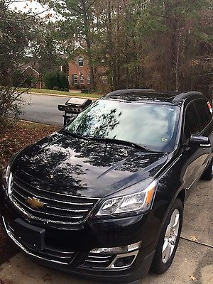 2013 Chevrolet Traverse LTZ 2013 Chevrolet Traverse LTZ w/Premium Wheels Black,LOADED OUT!!