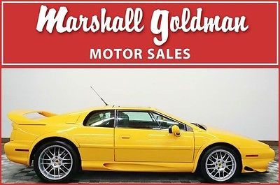1997 Lotus Esprit  1997 Lotus Esprit V8 Turbo Chrome Yellow with Black 2 tops only 30500 miles