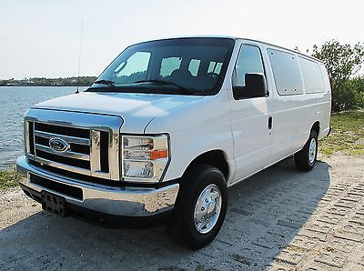 2008 Ford E-Series Van XLT advanced trac system 2008 Ford E350 ext XLT passender van, owned by the Washington Nationals baseball