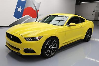 2016 Ford Mustang 2016 FORD MUSTANG ECOBOOST AUTO REAR CAM 19'S 14K MILES #205915 Texas Direct