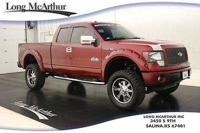 2013 Ford F-150 ROCKY RIDGE FX4 LIFT KIT 4X4 SUPERCAB MSRP $57590 4WD 4 DOOR ROCKY RIDGE FENDER FLARES 18