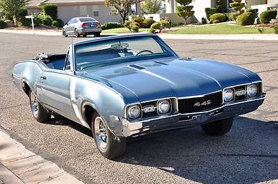1968 Oldsmobile 442 Convertible 1968 OLDSMOBILE 442 CONVERTIBLE ~ All #'s Matching ~ *Concours Throughout!