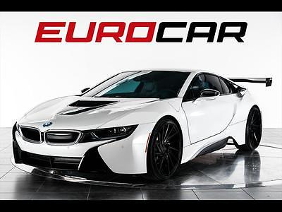 2015 BMW i8 Base Coupe 2-Door 2015 BMW i8 ($149,100.00 M.S.R.P.) ONE OF A KIND CUSTOM, RENNEN WHEELS