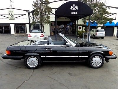 1989 Mercedes-Benz SL-Class 560SL - 1 Owner 1989 Mercedes 560SL - 40K One Owner