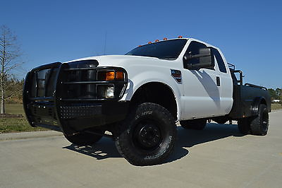 2008 Ford F-350 XL 2008 Ford F-350 Super Cab XL 4x4 Welding Bed Diesel Lift Deleted Tuned
