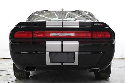2012 Dodge Challenger SRT8 Coupe 2-Door RT8 6SPD Nav Htd Seats Pwr Sunroof Repairable Rebuildable Lot Drives Save