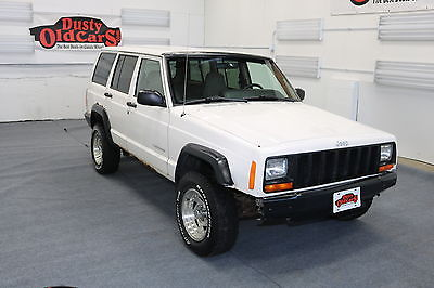 1999 Jeep Cherokee Runs Drives 4L I6 4 spd auto Off Road Use 1999 White Runs Drives 4L I6 4 spd auto Off Road Use!