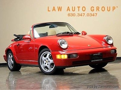 1994 Porsche 911 Speedster Convertible 2-Door 1994 Porsche 2DR CONVERTIBLE
