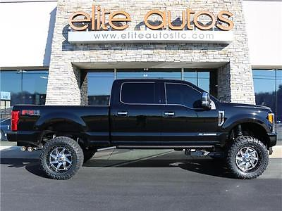 2017 Ford F-250 -- PLATINUM ULTIMATE Loaded 6 INCH LIFT 22 Wheels 37 TIRES F250